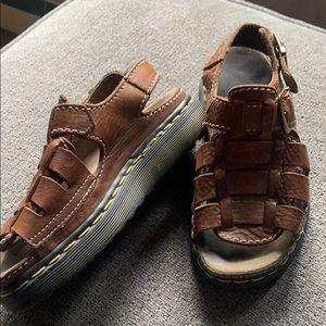 Dr Martens leather sandals